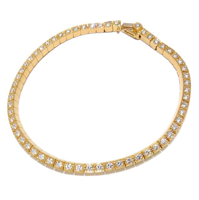 Cartier Yellow Gold Laniere Full Diamond Ladies 750 Dh51220 Bracelet Cartier Yellow Gold Laniere Full Diamond Ladies 750 Dh51220 Bracelet Image 1