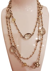 David Yurman David Yurman Pearl Prasiolite long necklace
