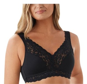 Breezies Breezies Set of Two Soft Support Lace Bras- Large