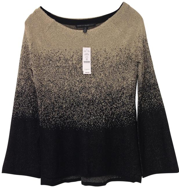 Item - Ombre Metallic and Gold Sweater
