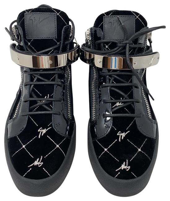 Item - Black Silver New May Lond. Sc. Donna Sneakers Size EU 41 (Approx. US 11) Regular (M, B)