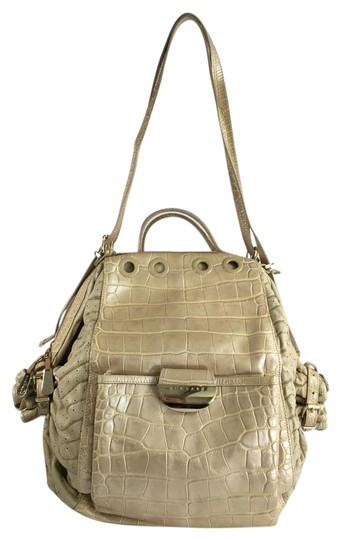 Preload https://item5.tradesy.com/images/versace-crocodile-embossed-and-woven-raffia-darling-beige-leather-shoulder-bag-2677759-0-2.jpg?width=440&height=440