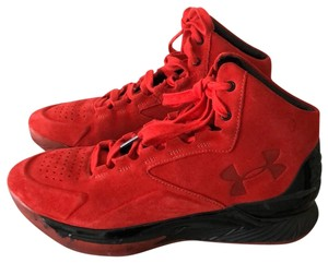 Under Armour red Athletic