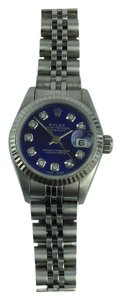 Rolex Rolex Datejust Custom Sapphire Blue Dial with Diamonds