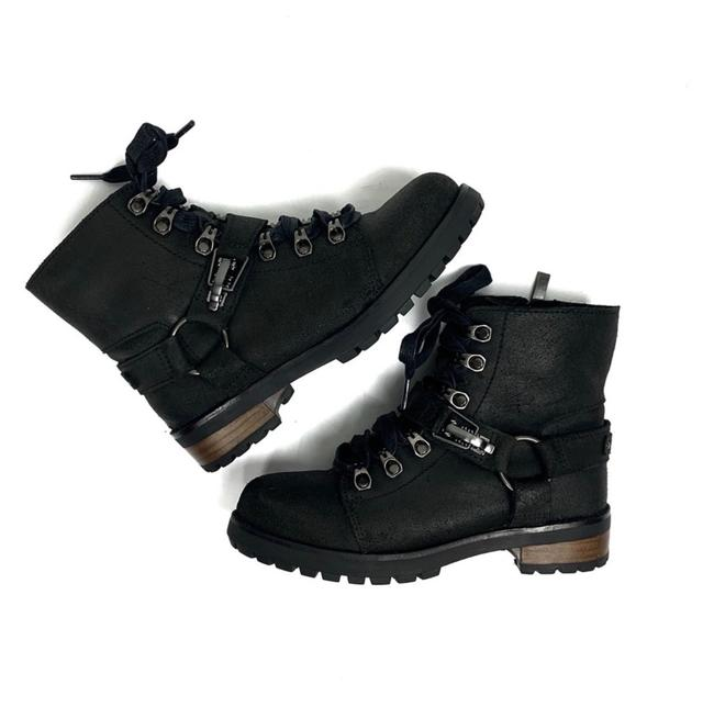 Item - Black Fritzi Lace-up Boots/Booties Size US 5.5 Regular (M, B)