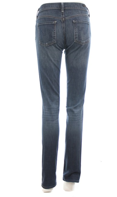 Item - Blue Elson Medium Rise Straight Leg Jeans Size 25 (2, XS)