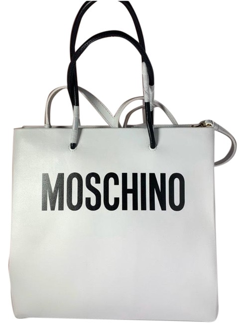 Item - Jeremy Scott Couture White Leather Tote