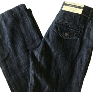 Tommy Hilfiger Linen Relaxed Pants Blue