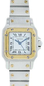Cartier Cartier Santos Small Two-Tone Stainless Steel 23mm Ladies Watch