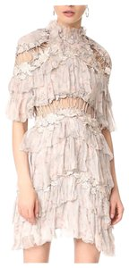 ZIMMERMANN short dress Grey on Tradesy