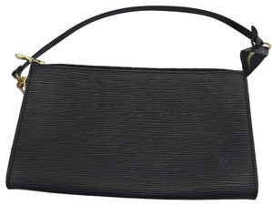 Louis Vuitton Wristlet in Black