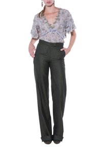 Luisa Beccaria Trouser Pants Charcoal