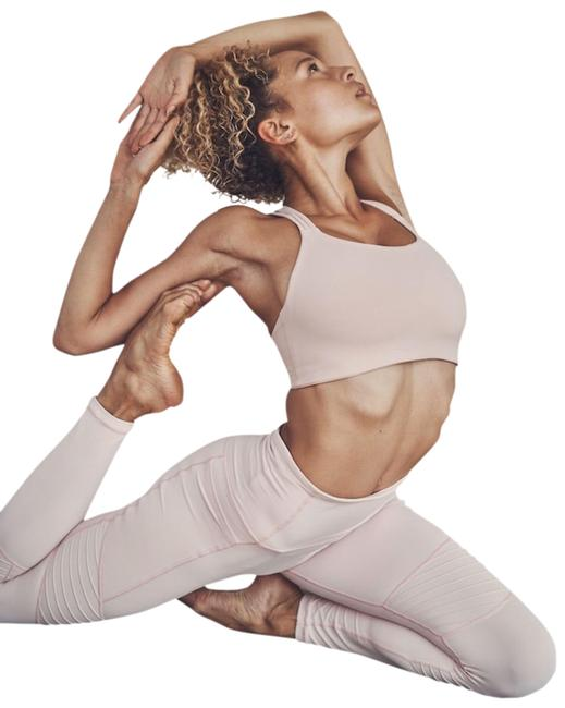 Item - Orchid Pink Inclination Moto Tight Activewear Bottoms Size 00 (XXS)