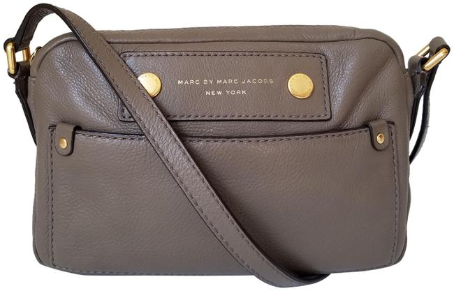 Marc by Marc Jacobs Camera Preppy Puma Taupe Leather Cross Body Bag Marc by Marc Jacobs Camera Preppy Puma Taupe Leather Cross Body Bag Image 1