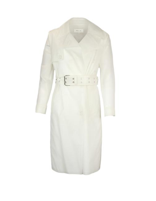Item - Clear Transparent Pvc Double Breasted with Belt X Coat Size 2 (XS)