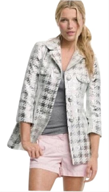 Item - Silver White Nwot Collection Glassia Jacket Coat Size 8 (M)