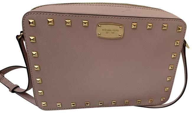 Item - Crossbody Bags Small Size Pink Blush Leather Messenger Bag