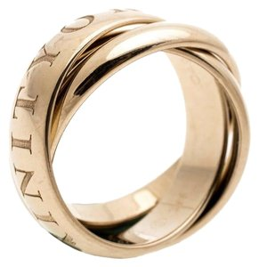 Cartier Et Trinity 18k Yellow Gold Ring Size 51
