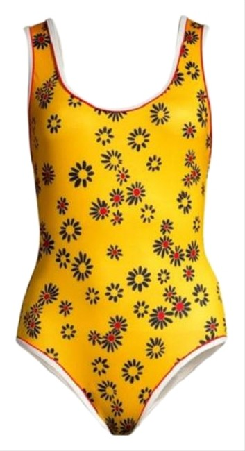 Item - Yellow Daisy Anne-marie Swimsuit One-piece Bathing Suit Size 8 (M)