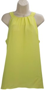Violet & Claire Nordstrom Sleeveless Top Yellow Green