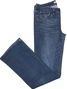 Bullhead Black Boot Cut Jeans-Medium Wash