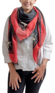 Givenchy Givenchy Red Scarf