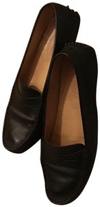 Tod's Designer Couture Driving Comfortable Black Flats