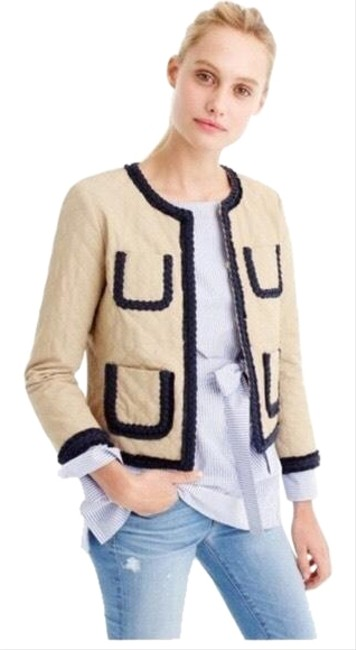 Item - Tan Nwt. Quilted Jacket Size 10 (M)