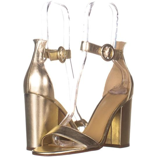 Marc Fisher Gold Magali Ankle Strap