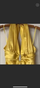 Cache Yellow Formal Bridesmaid/Mob Dress Size 4 (S)