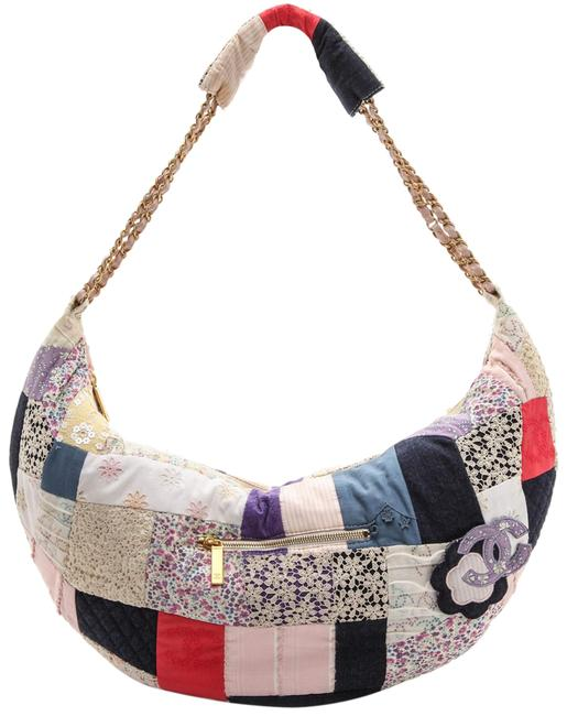 Item - Classic Flap Limited Edition Classic Patchwork Assorted Multi Color Cotton Hobo Bag