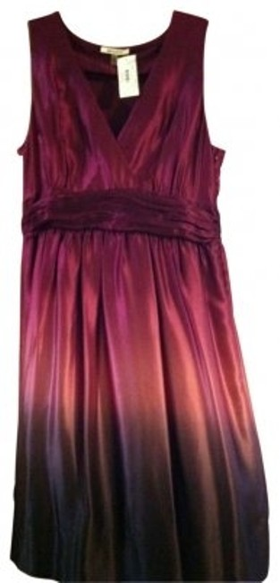 Preload https://img-static.tradesy.com/item/26787/dkny-shades-of-lavender-purple-ruched-midsection-silk-above-knee-cocktail-dress-size-16-xl-plus-0x-0-0-650-650.jpg