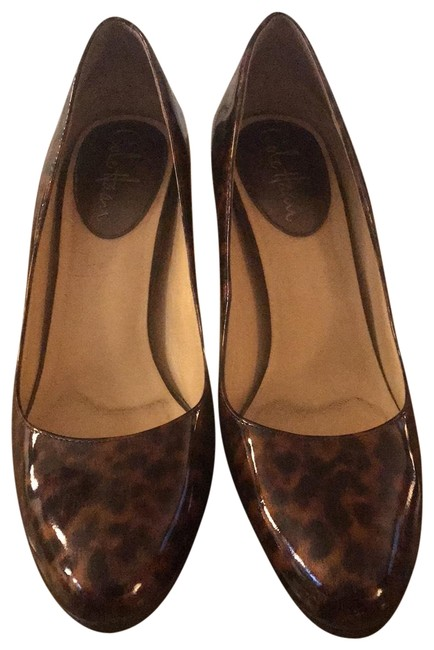 Cole Haan Brown Nike Air Tortoise Pumps Size US 8.5 Regular (M, B) Cole Haan Brown Nike Air Tortoise Pumps Size US 8.5 Regular (M, B) Image 1