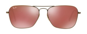 Ray-Ban Free 3 Day Shipping RB 3136 167/2K Caravan Petite Pilot Shape
