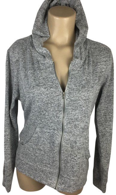 Item - Gray Hoodie Activewear Outerwear Size 12 (L)