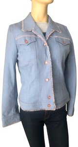 Escada blue Womens Jean Jacket