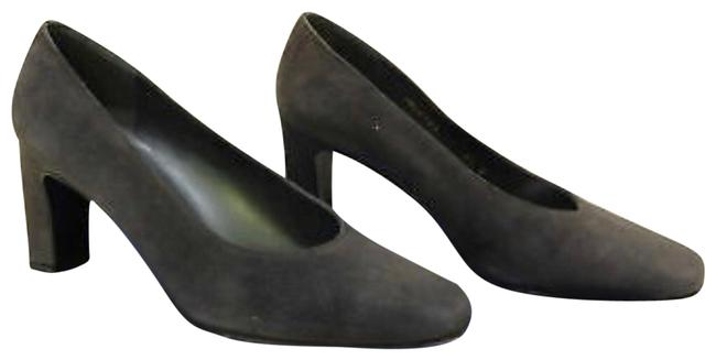 Item - Gray Cana Charcoal Suede Pumps Size US 7 Narrow (Aa, N)