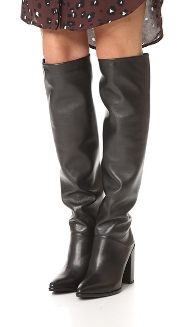 Item - Scrunchy Leather Boots/Booties Size US 8 Regular (M, B)
