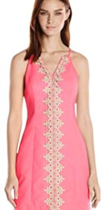 Lilly Pulitzer short dress Bungalow Pink on Tradesy