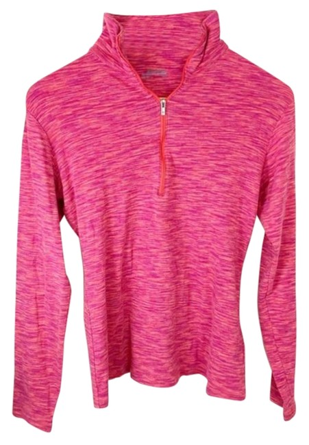 Item - Pink Red Quarter Zip Activewear Top Size 8 (M)
