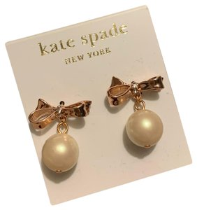 Kate Spade Bow / pearl