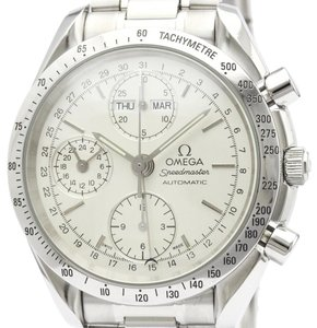 Omega OMEGA Speedmaster Triple Date Steel Automatic Watch 3521.30