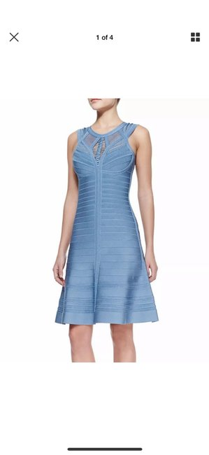 Item - Blue Vivian Knee Length with Tags Mid-length Cocktail Dress Size 0 (XS)