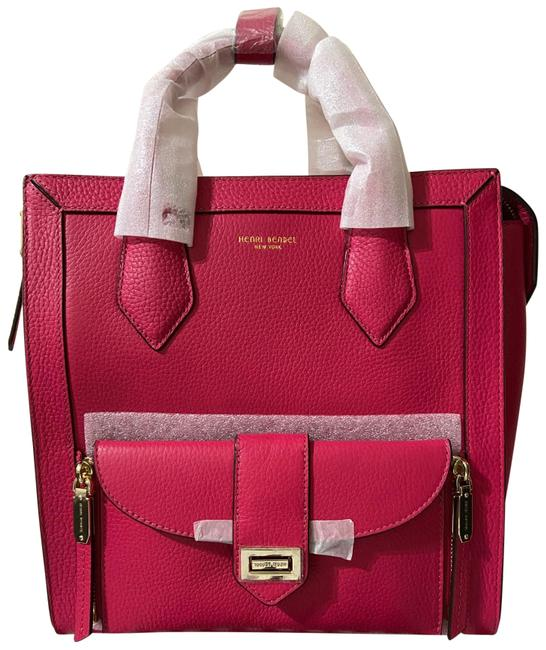 Item - Rivington Convertible Pink Leather Backpack