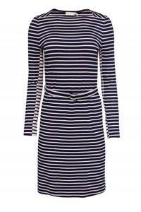 Tory Burch short dress Day Beige Navy on Tradesy
