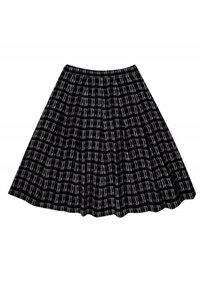 Billy Reid Grey Red Print Skirt