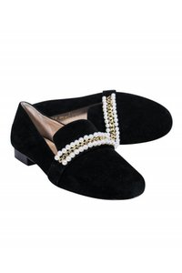 Bettye Muller Loafers Suede black Pumps