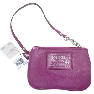 Coach Wristlet in Berry
