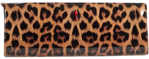 Christian Louboutin Studded Classic Quilted Paloma Denim black Clutch