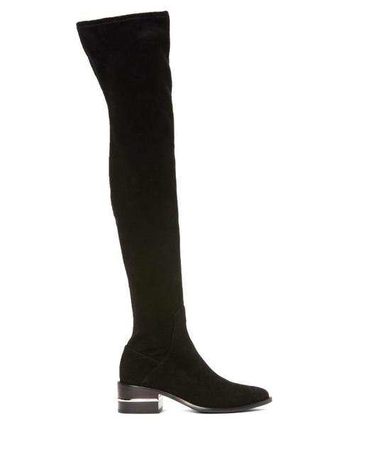 Item - Black Jacey Thigh High Suede Boots/Booties Size US 6 Regular (M, B)